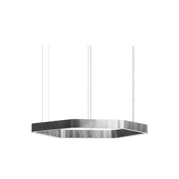 Henge Light Ring Horizontal Polygonal D60 Nickel