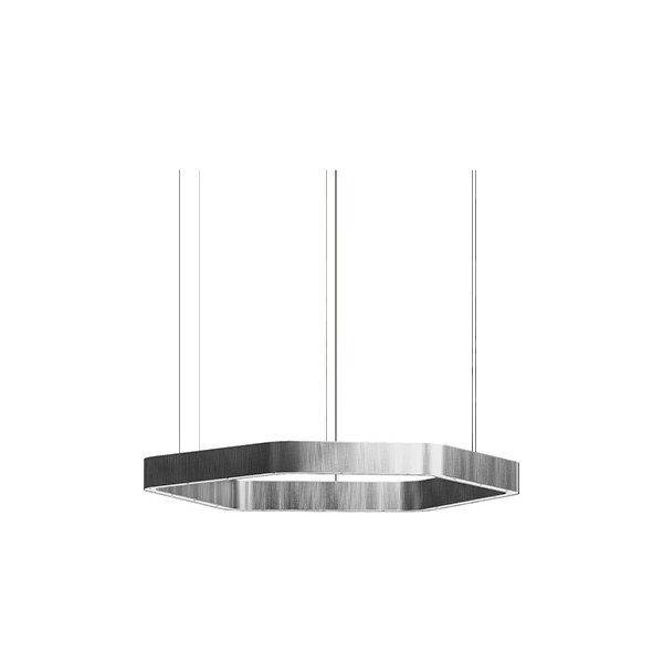 Henge Light Ring Horizontal Polygonal D50 Nickel