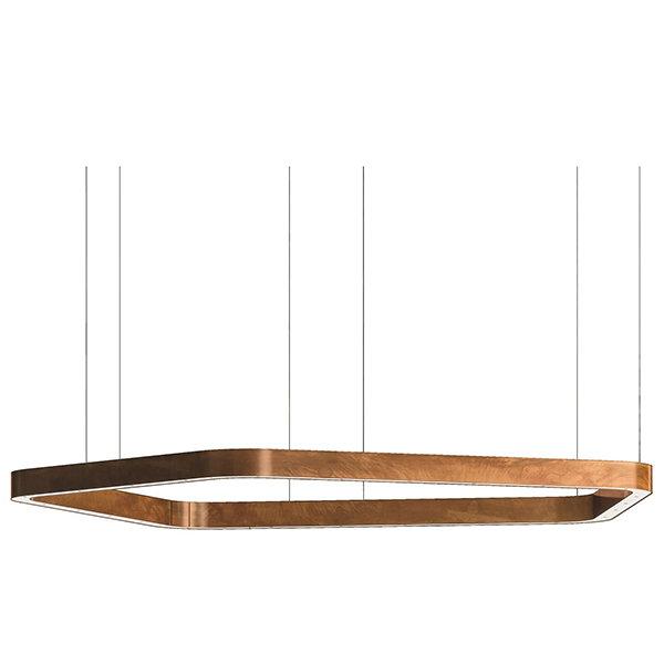 Henge Light Ring Horizontal Polygonal D100 Copper