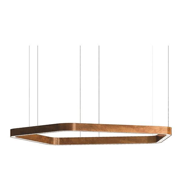Henge Light Ring Horizontal Polygonal D90 Copper