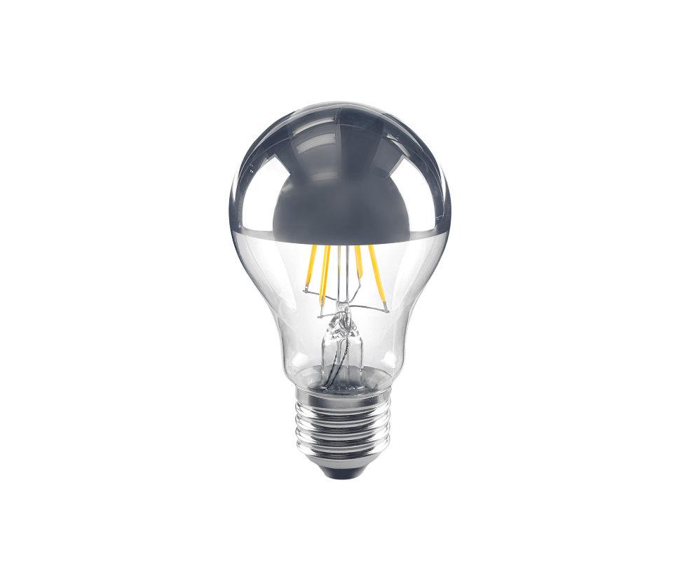 Лампа LED с зеркальной поверхностью