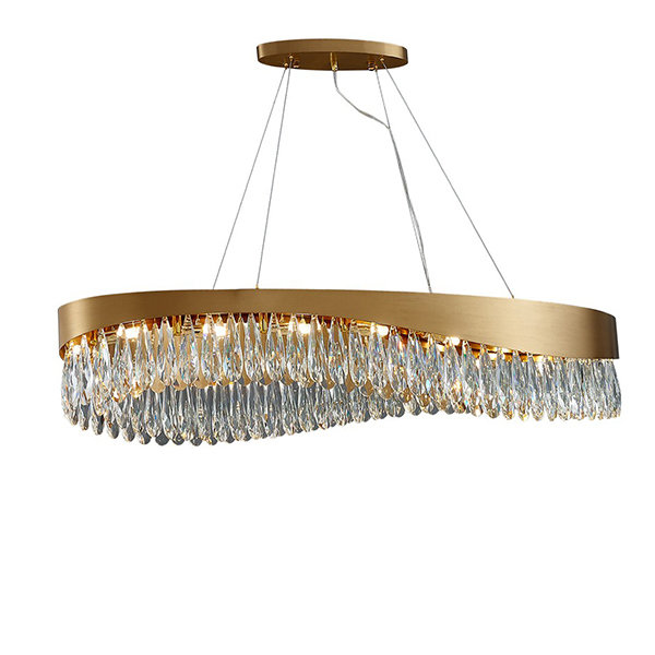 Astoria Chandelier by GLCrystal Long